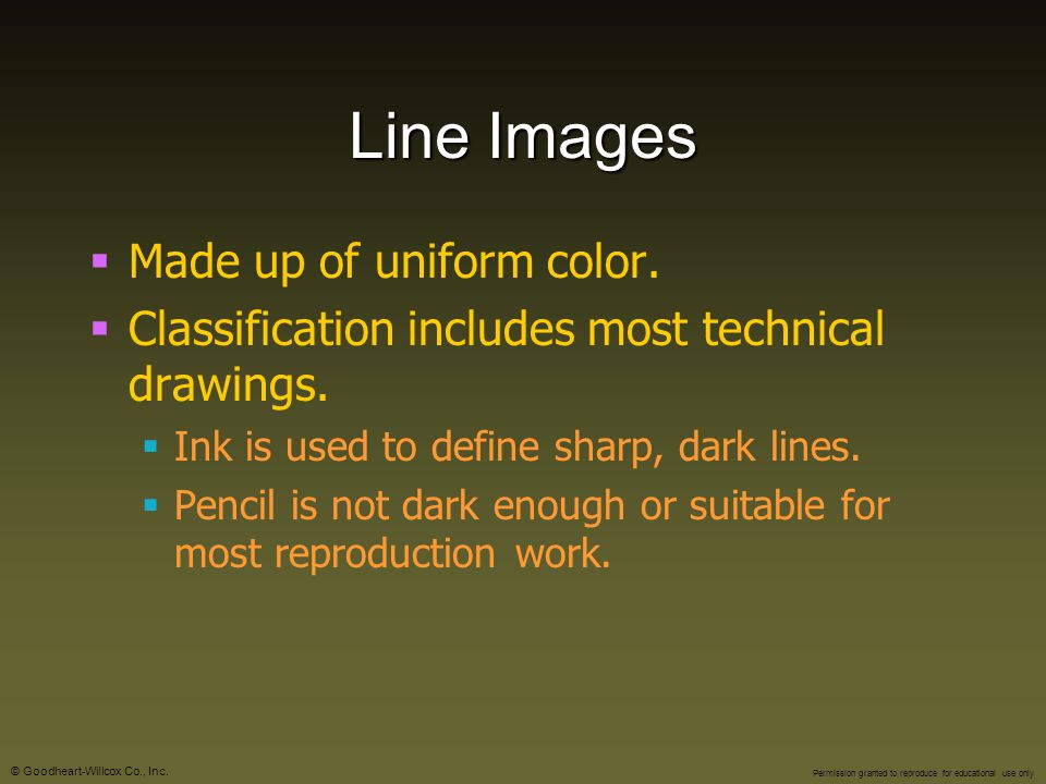 Line Images Made up of uniform color.