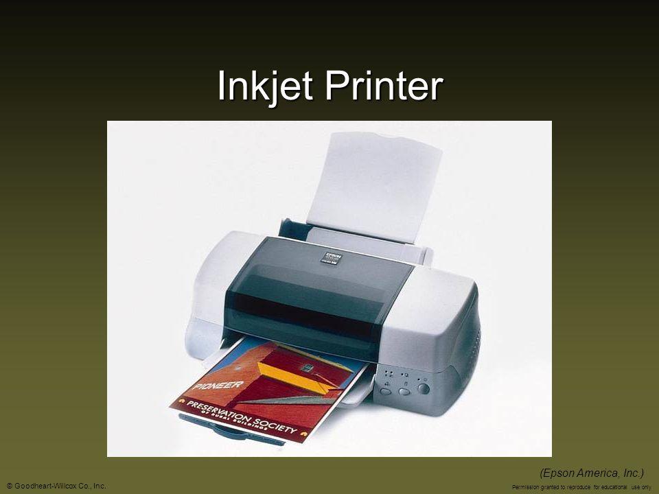 Inkjet Printer (Epson America, Inc.)