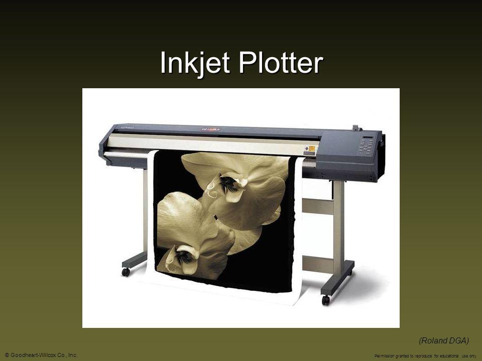 Inkjet Plotter (Roland DGA)