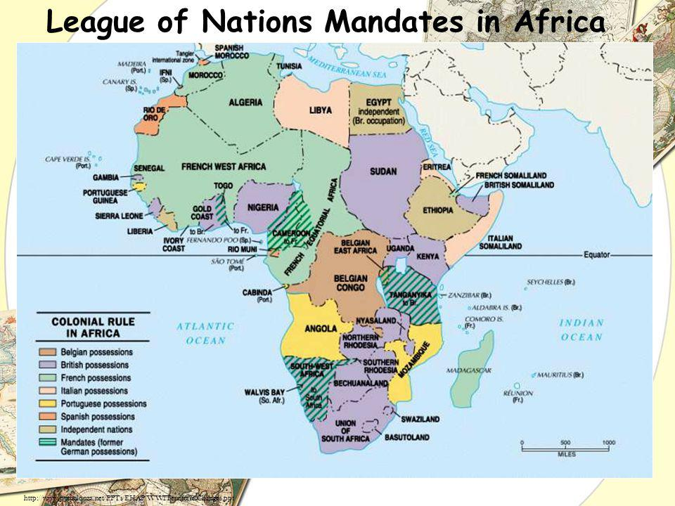 League of Nations Mandates in Africa