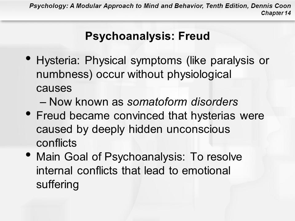 Psychoanalysis: Freud