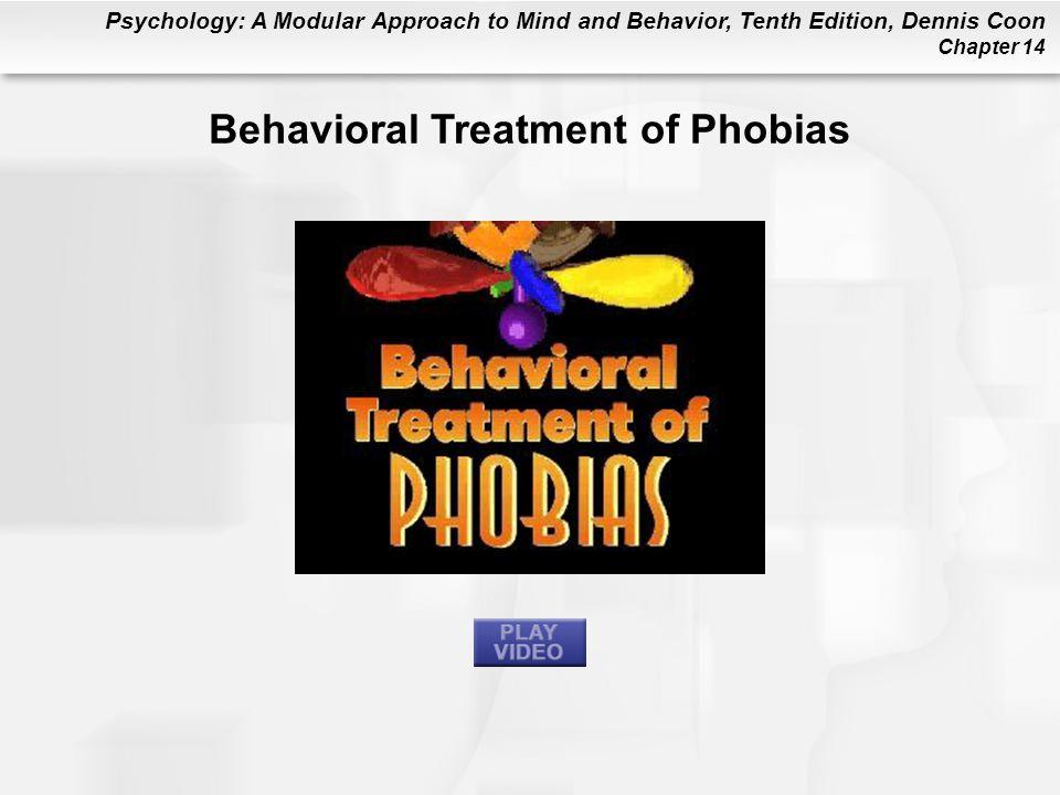 Behavioral Treatment of Phobias