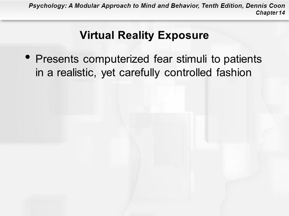 Virtual Reality Exposure