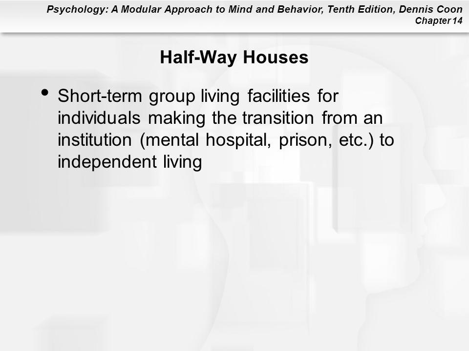 Half-Way Houses