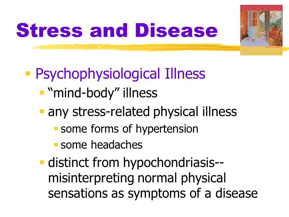 Stress and Disease Psychophysiological Illness mind-body illness