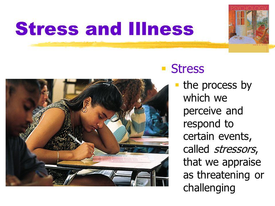 Stress and Illness Stress