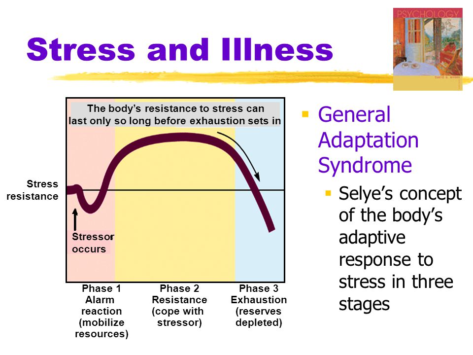 Stress and Illness General Adaptation Syndrome
