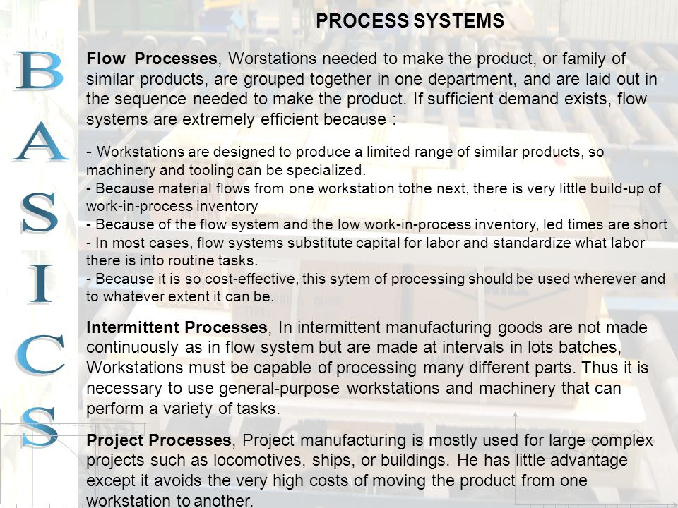PROCESS SYSTEMS
