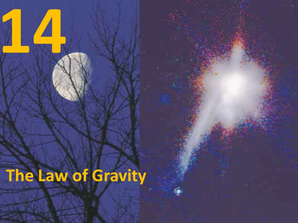 14 The Law of Gravity