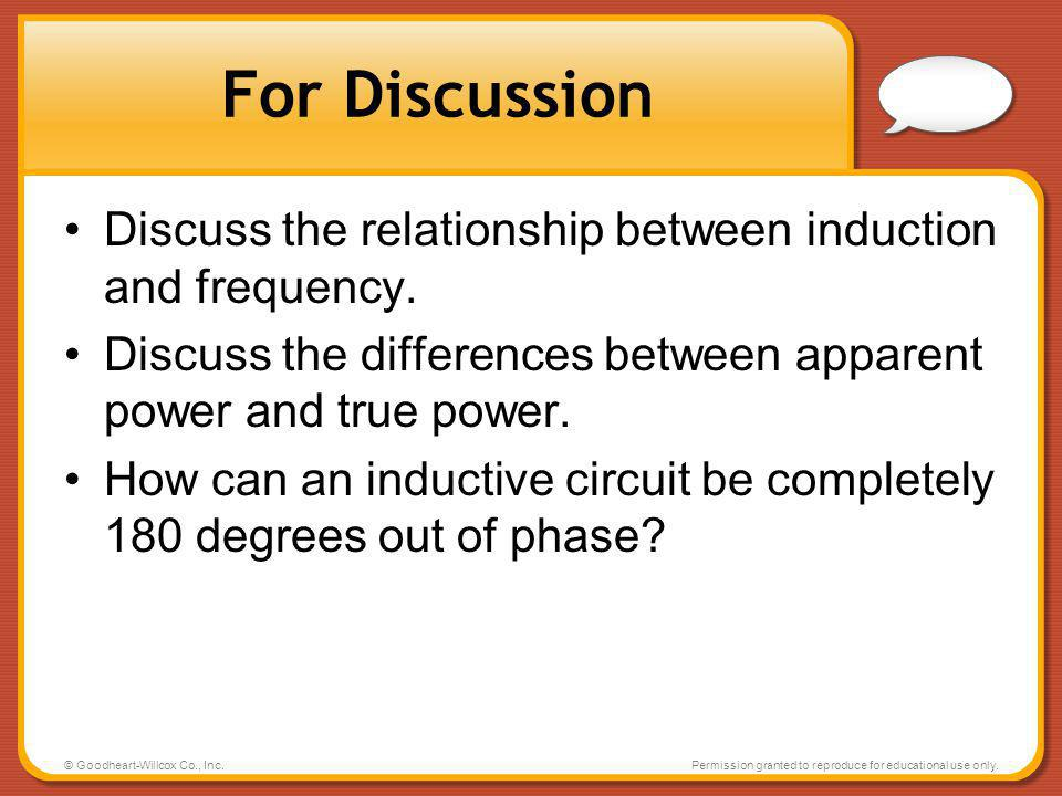 power and frequency relationship