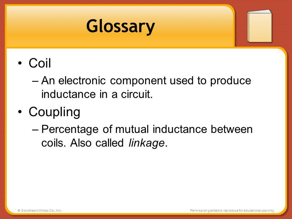 Glossary Coil Coupling