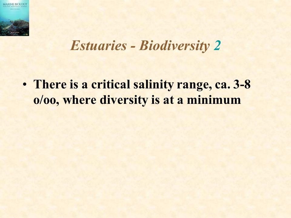 Estuaries - Biodiversity 2