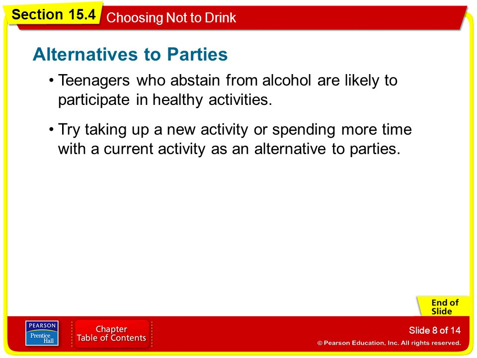 Alternatives to Parties