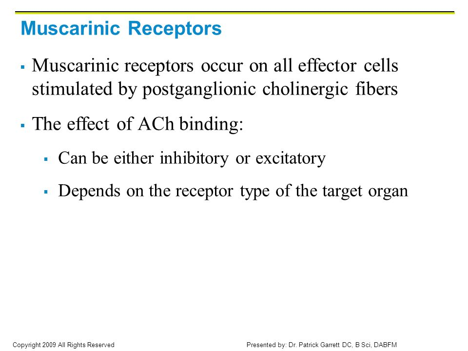 The effect of ACh binding: