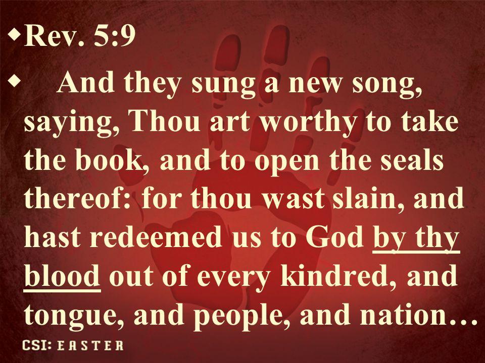 Rev. 5:9