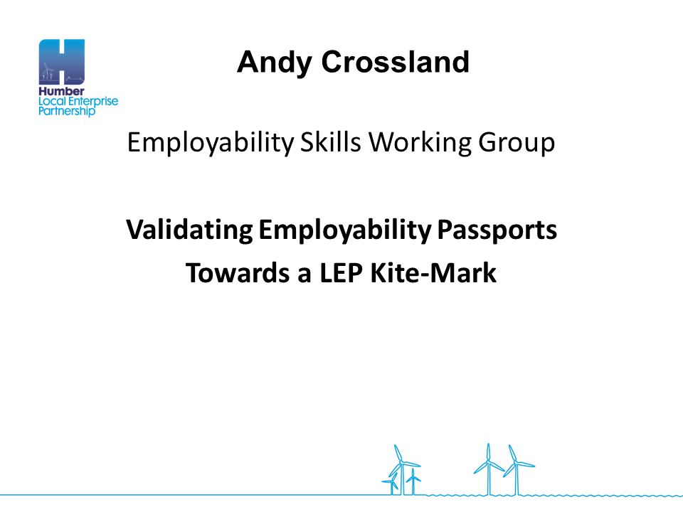 Validating Employability Passports Towards a LEP Kite-Mark