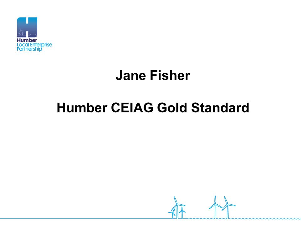 Humber CEIAG Gold Standard