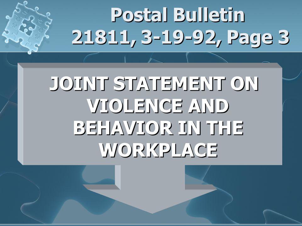 Postal Bulletin 21811, 3-19-92, Page 3