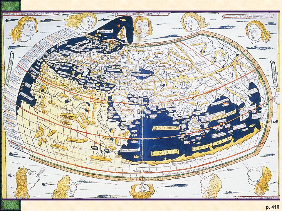 Ptolemy's World Map.