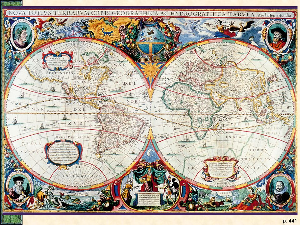 A Seventeenth-Century World Map.