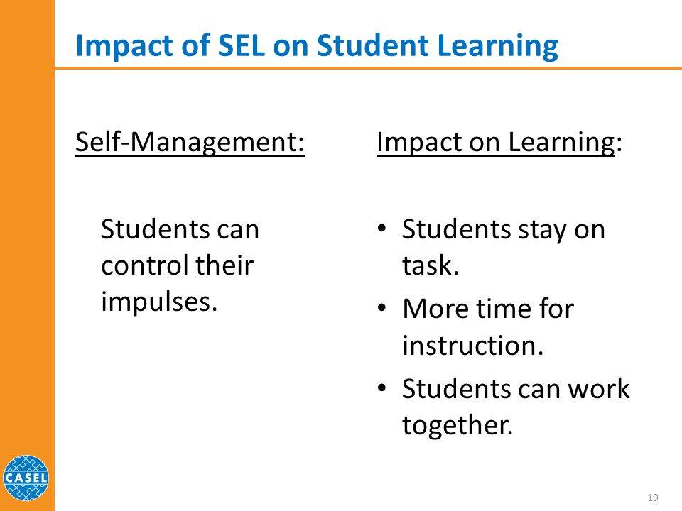 Impact of SEL on Student Learning