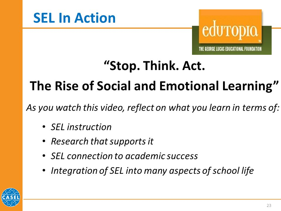The Rise of Social and Emotional Learning