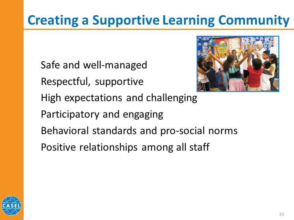 Creating a Supportive Learning Community