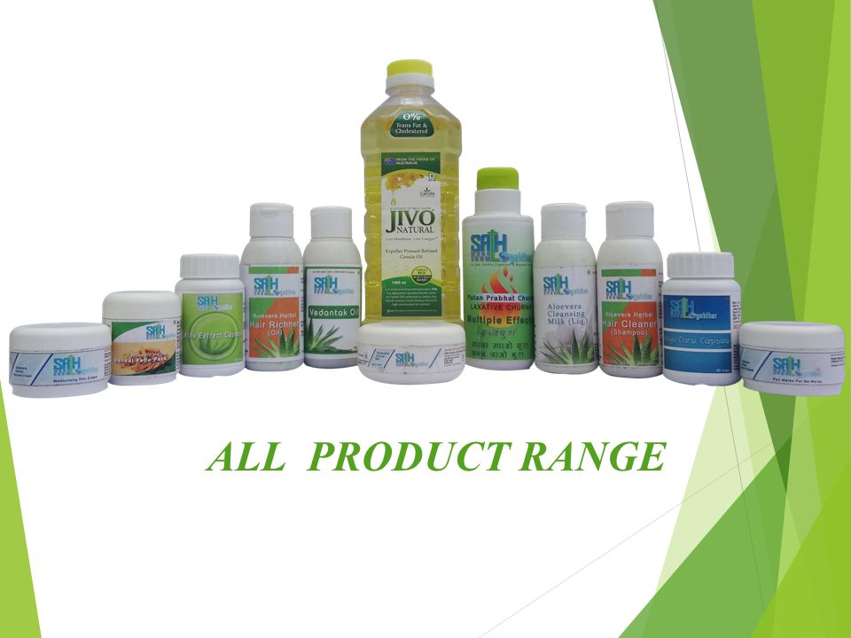 ALL PRODUCT RANGE