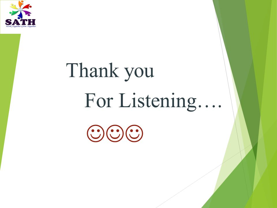 Thank you For Listening…. 