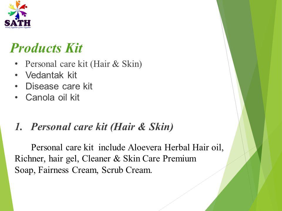 Products Kit Personal care kit (Hair & Skin) Vedantak kit