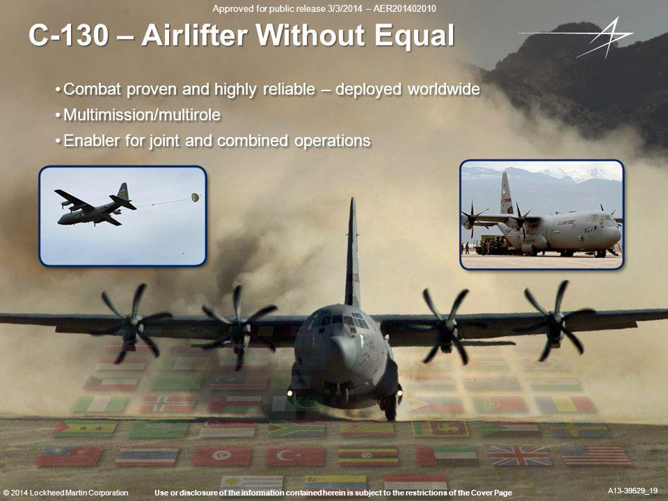 C-130 – Airlifter Without Equal