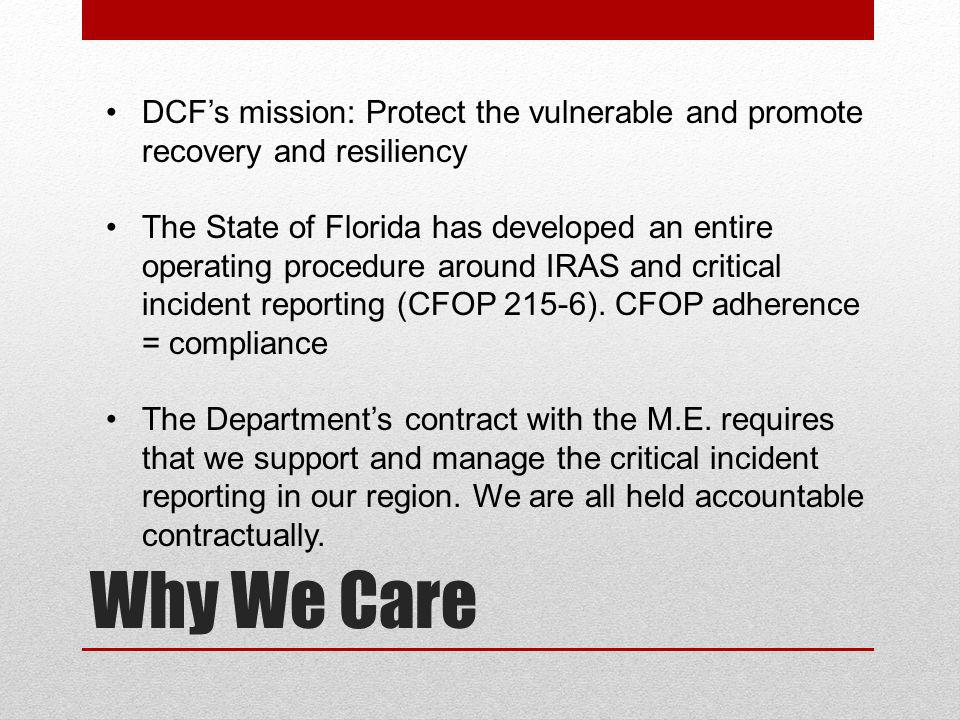 DCF's mission: Protect the vulnerable and promote recovery and resiliency
