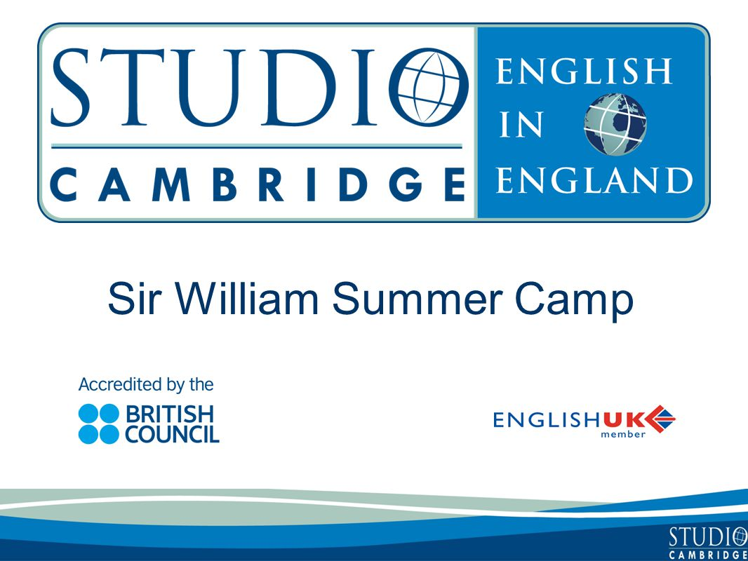 Sir William Summer Camp
