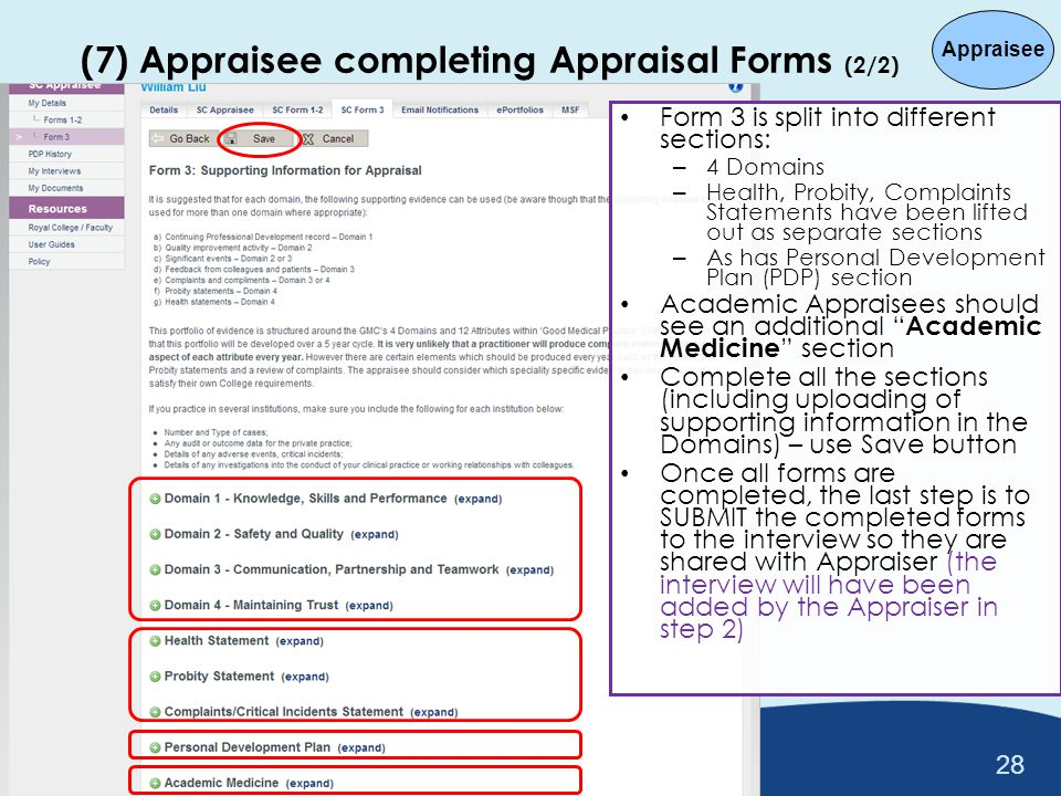 Introduction To Academic Appraisal Processes On Soar - Ppt Download