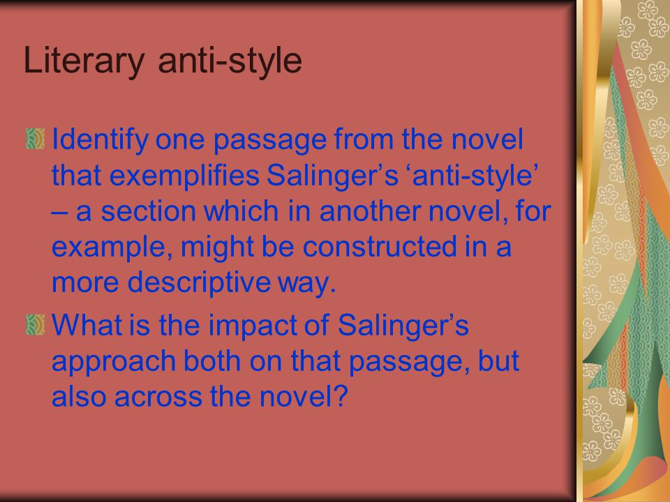 Literary anti-style