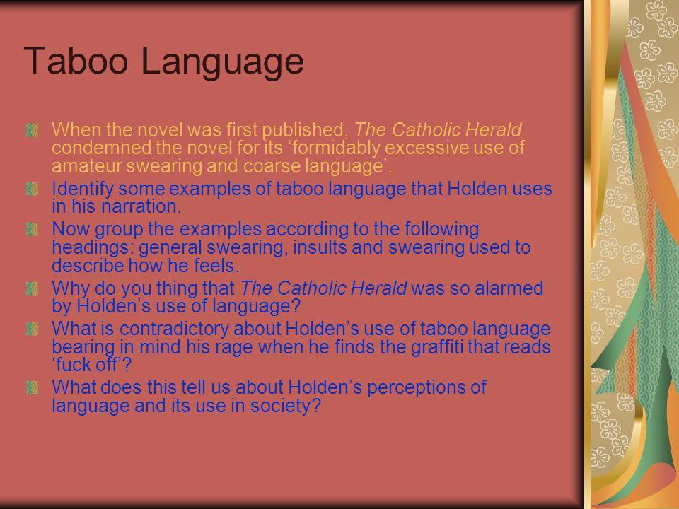 Taboo Language