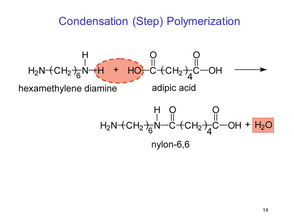 Condensation (Step) Polymerization
