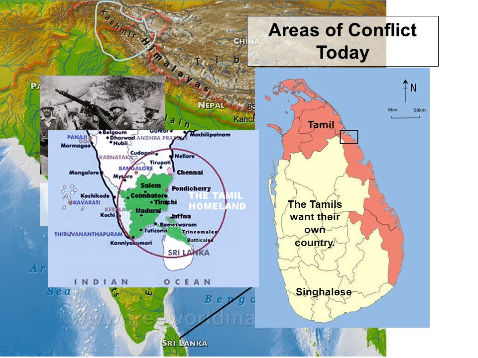 Areas of Conflict Today