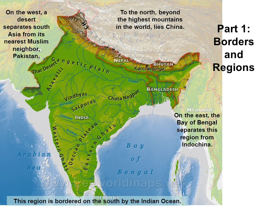 Part 1: Borders and Regions
