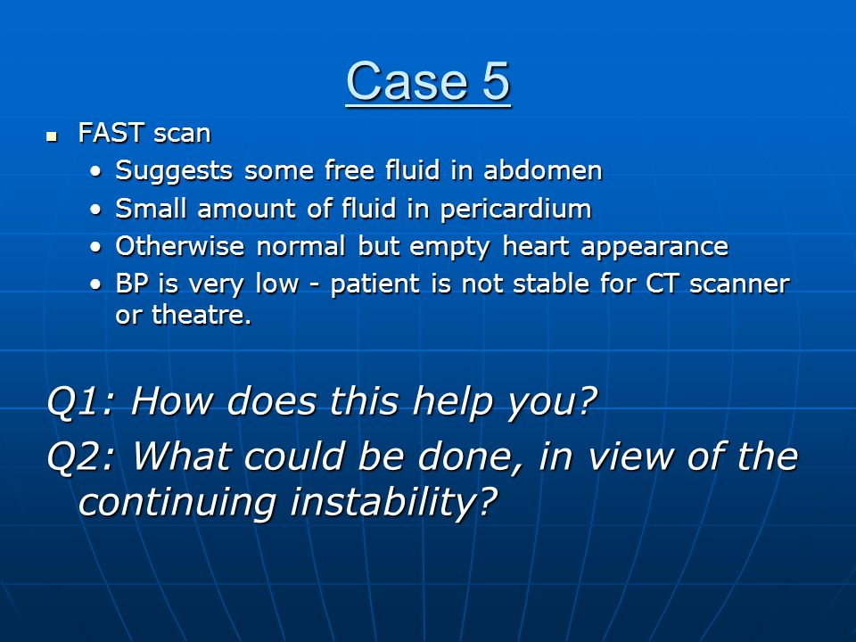 Case 5 Q1: How does this help you