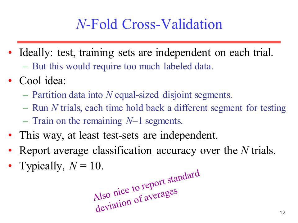 N-Fold Cross-Validation