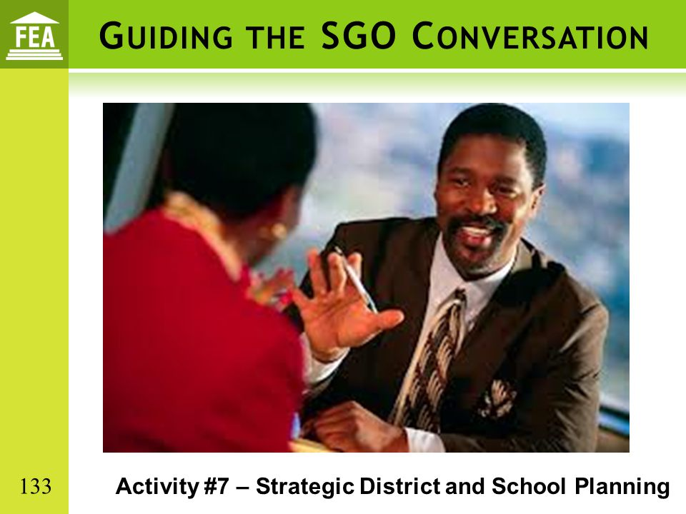 Guiding the SGO Conversation