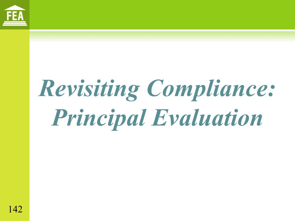 Revisiting Compliance: