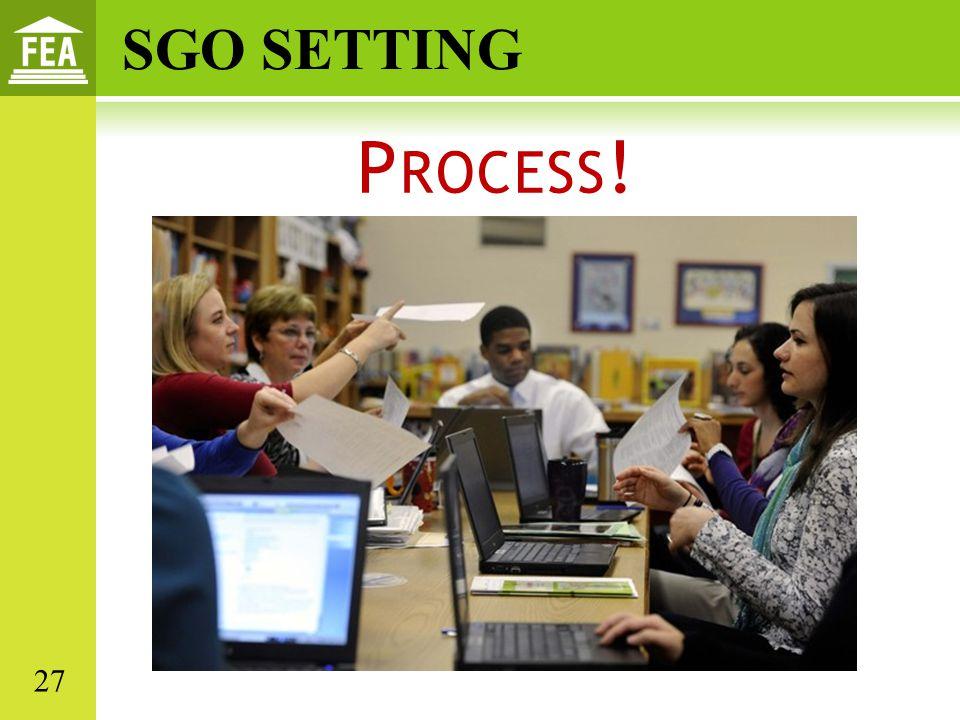 SGO SETTING Process! 27