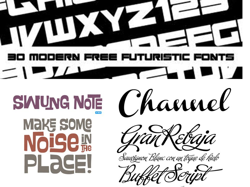Fonts are like shoes. You can never have enough