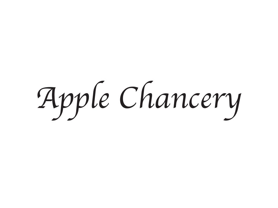 Apple killed this one. It was one of the original free fonts.