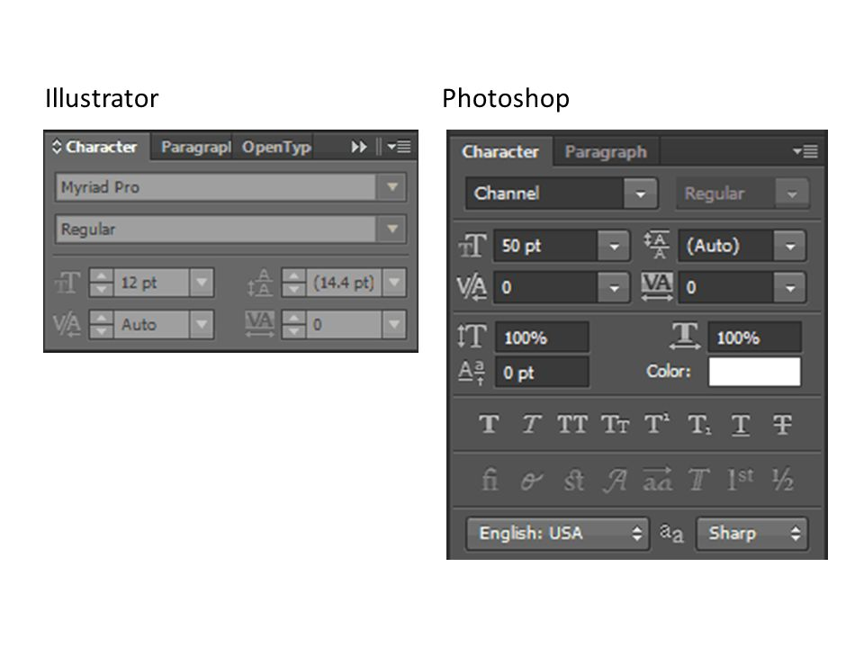 Illustrator Photoshop