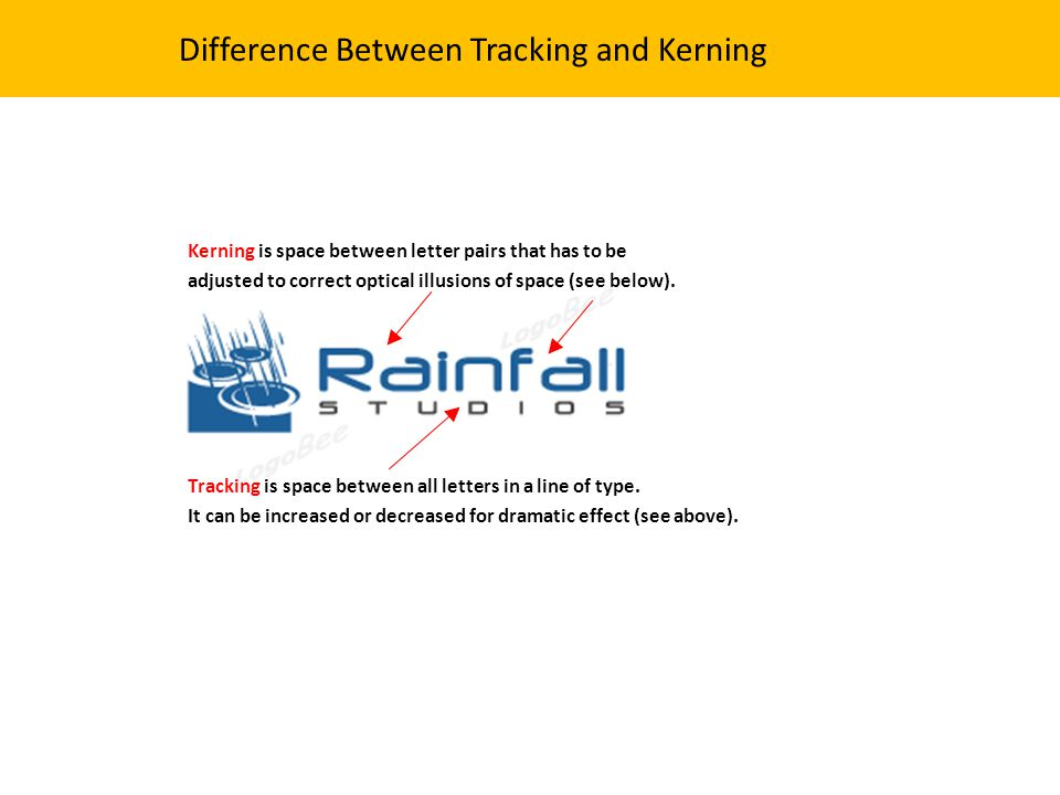 Difference Between Tracking and Kerning