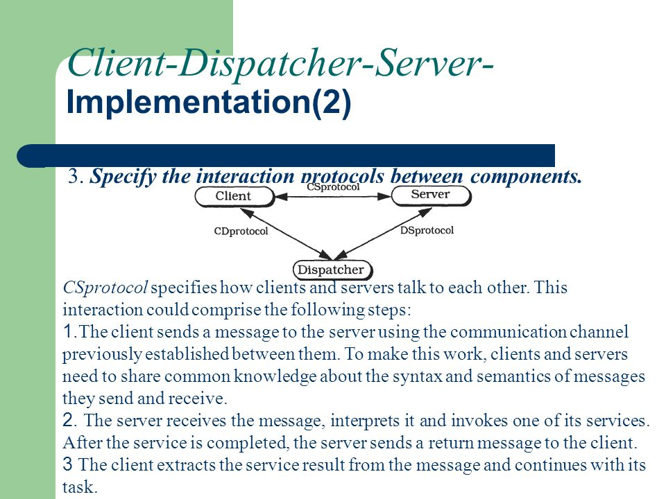 Client-Dispatcher-Server- Implementation(2)