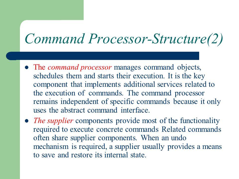 Command Processor-Structure(2)